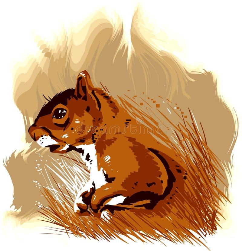 mały zwierzęcego wektora royalty ilustracja