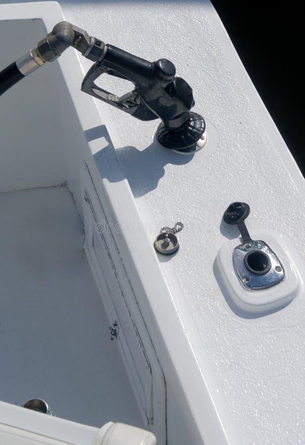 ma łódź gazu zdjęcia royalty free
