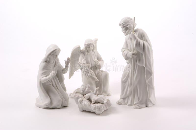 Mała scena narodzenie jezusa
