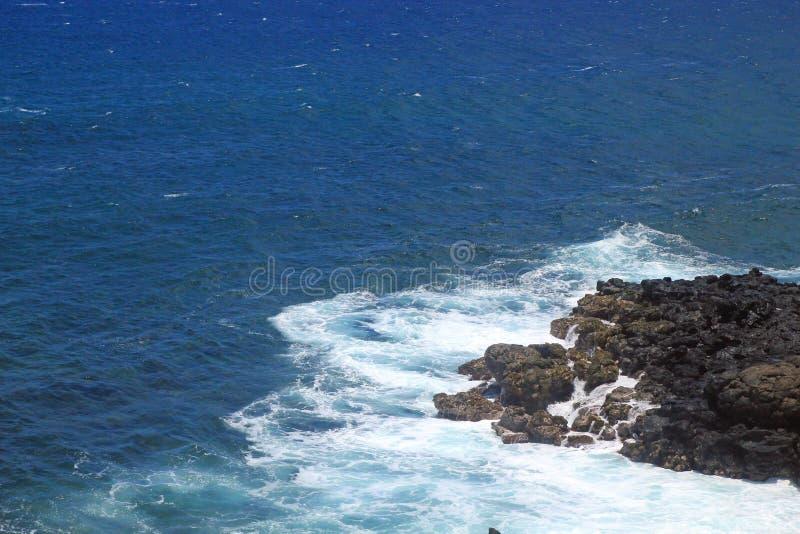 Download Mała Sekcja Lawa i Pacyfik zdjęcie stock. Obraz złożonej z hawajczycy - 27718956