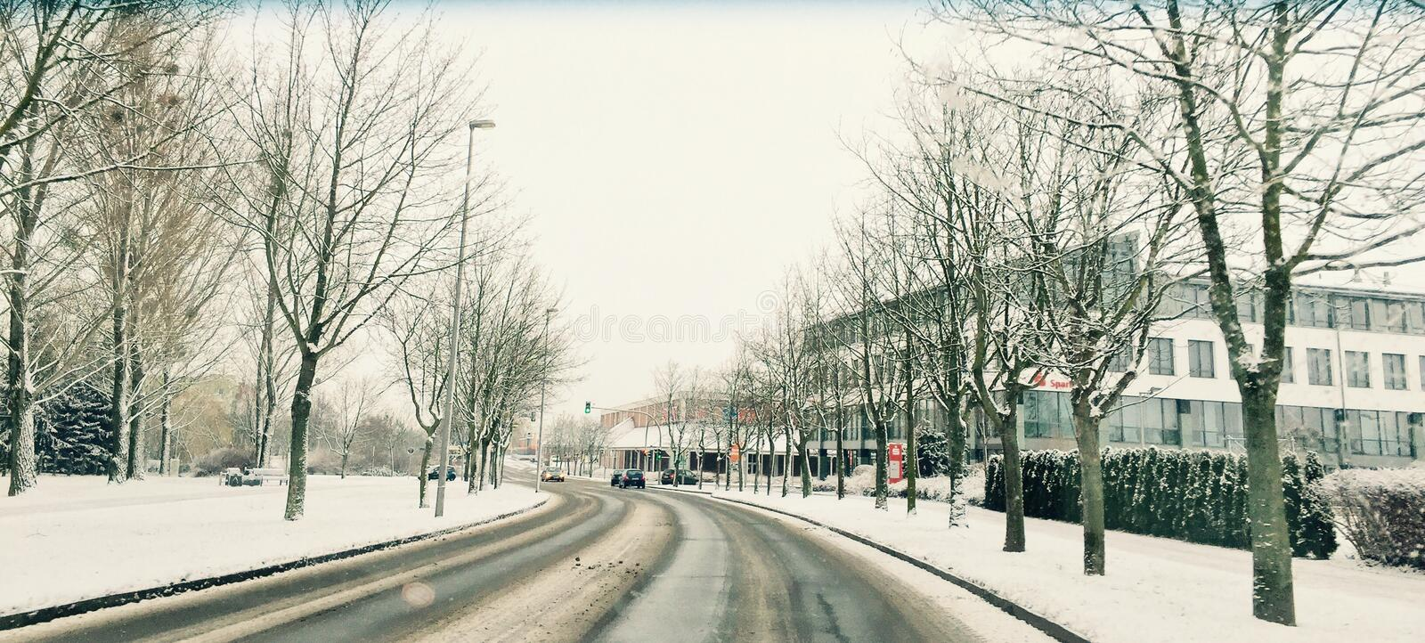 Ma ville photographie stock