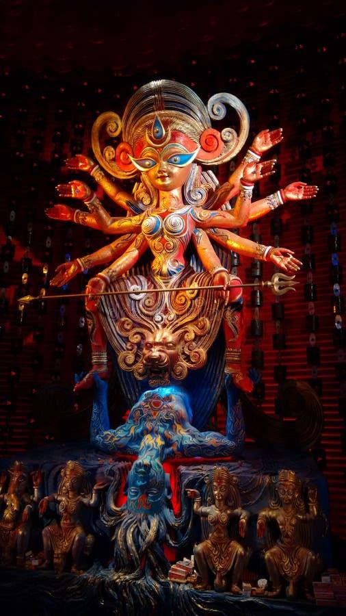 Maa Durga zdjęcie royalty free