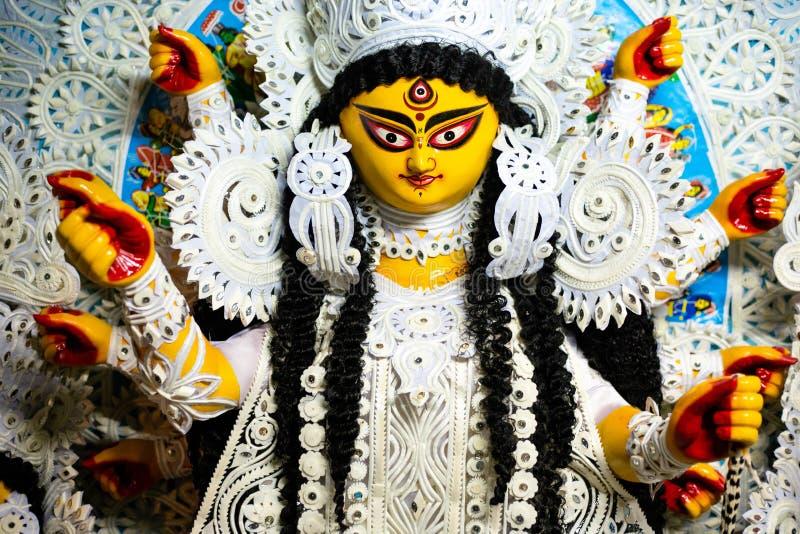 Durga maa portrait stock photography
