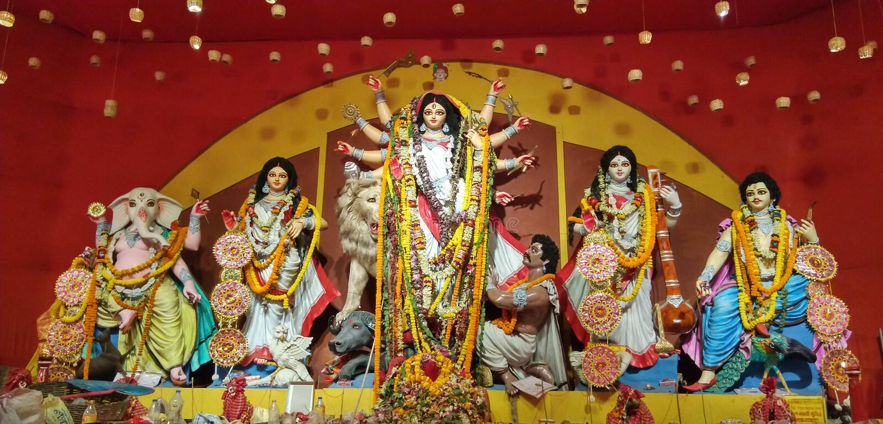 Maa Durga royalty free stock photo