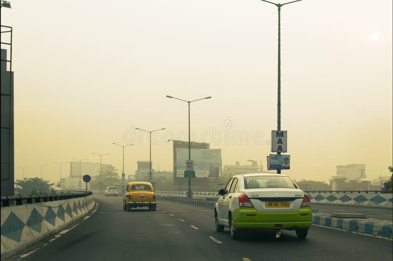 Maa flyover, Kolkata, δυτική Βεγγάλη, Ινδία στοκ εικόνα