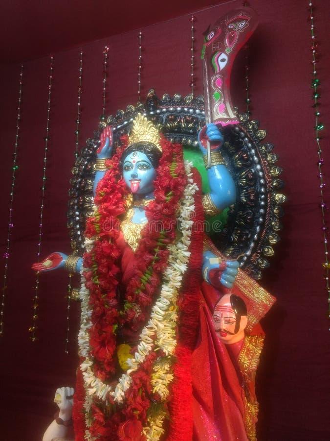 Maa Kali стоковая фотография