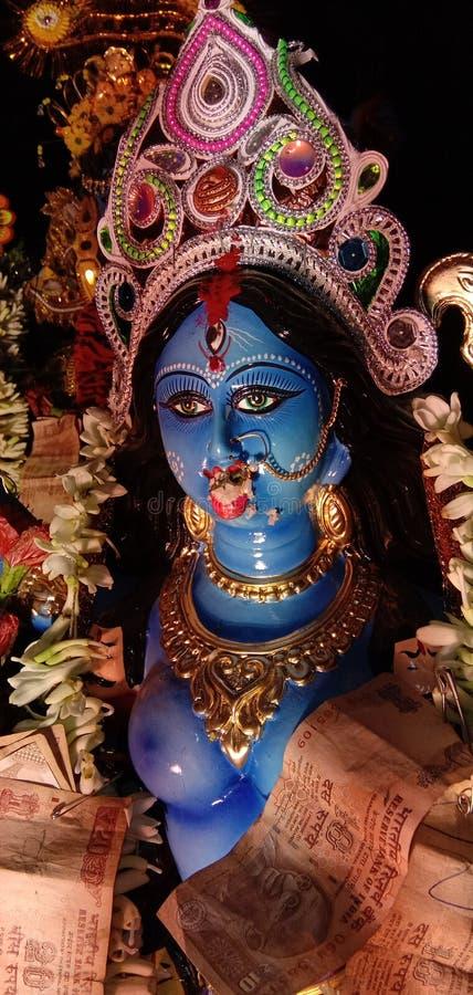 Maa Kali стоковое фото