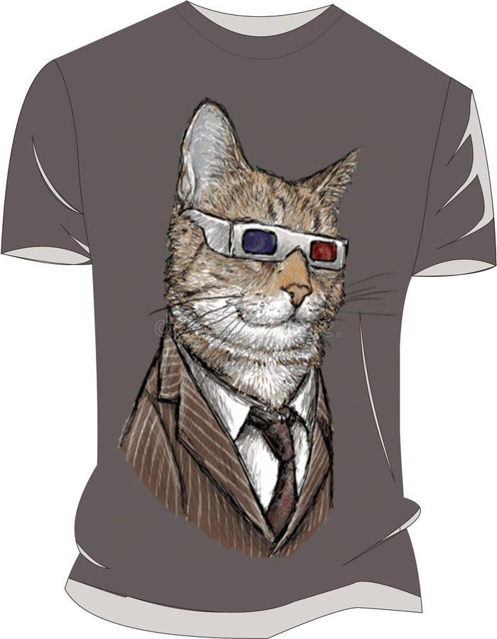 Maaf kucing gambar de mohon de sempurna de belum de coba de coba de masih de pendek lengan de Baju photo libre de droits