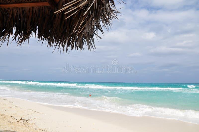 Maagdelijk strand royalty-vrije stock foto's