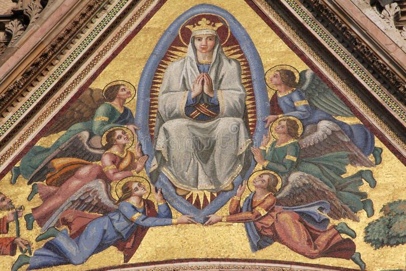 Maagdelijke Mary royalty-vrije stock foto