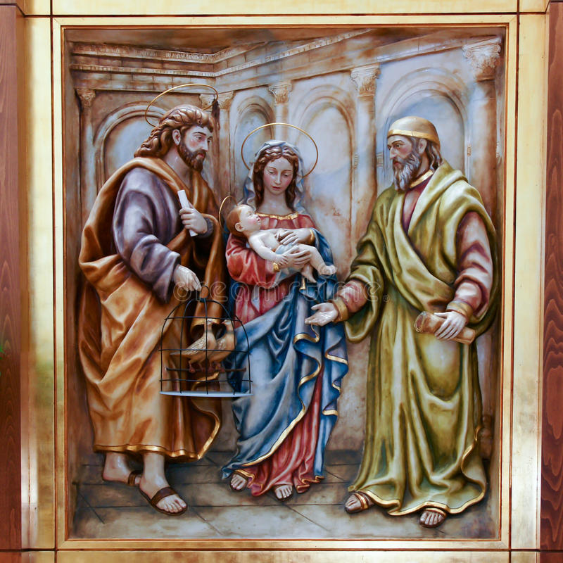 Maagdelijke Mary stock foto's