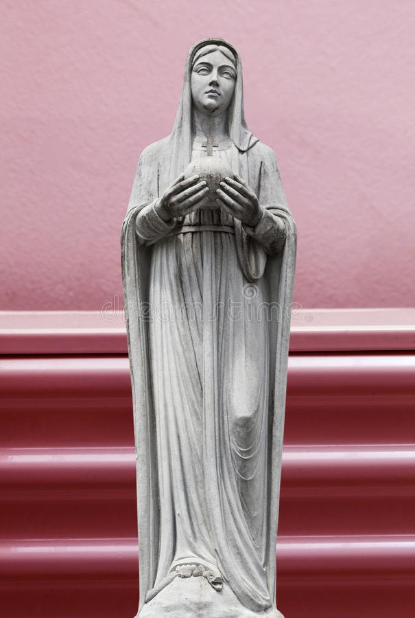 Maagdelijke Mary, moeder van Jesus vector illustratie