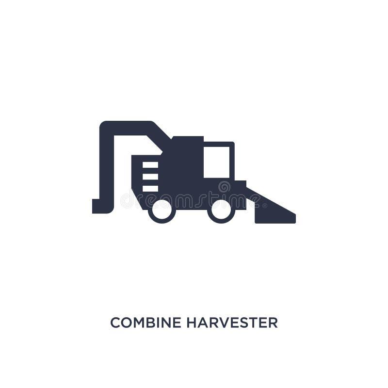 maaidorserpictogram op witte achtergrond Eenvoudige elementenillustratie van landbouw die en het tuinieren concept bewerken vector illustratie