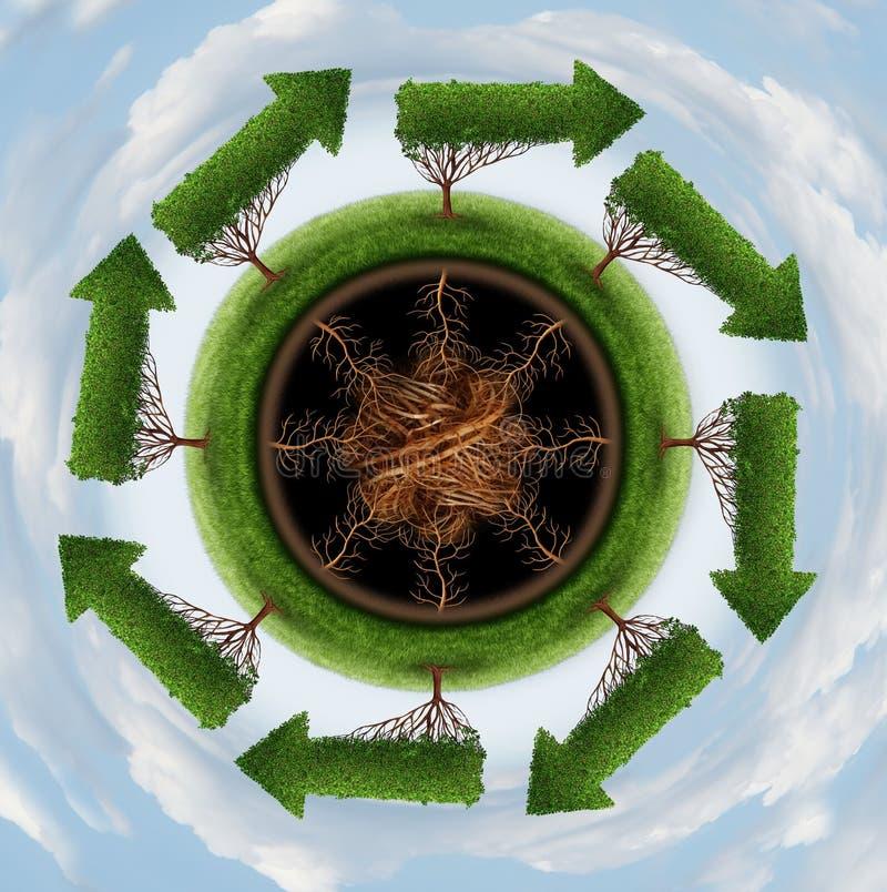 Download Maak de Lucht schoon stock illustratie. Illustratie bestaande uit atmosfeer - 39105423