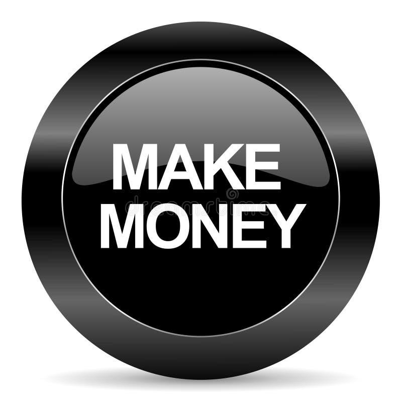 Maak geldpictogram vector illustratie