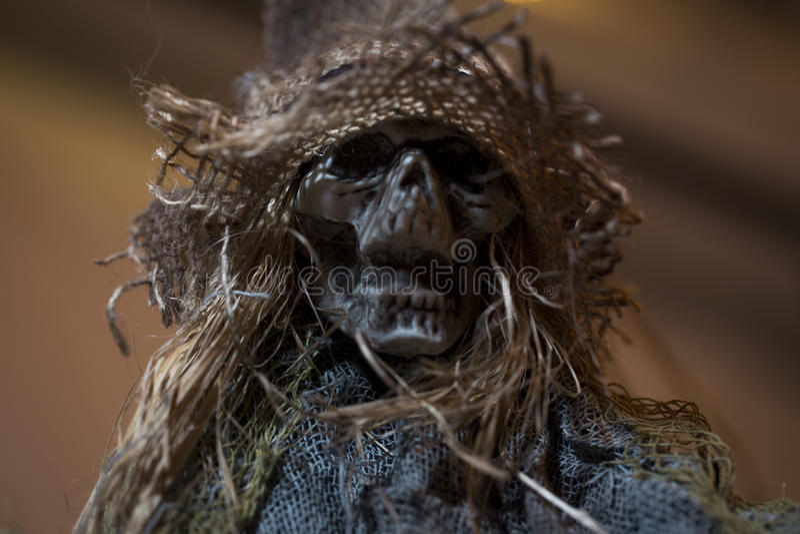 Maak schedel voor Halloween bang royalty-vrije stock fotografie