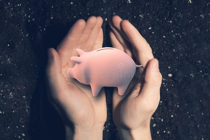 Maak uw besparingen groeien royalty-vrije stock foto