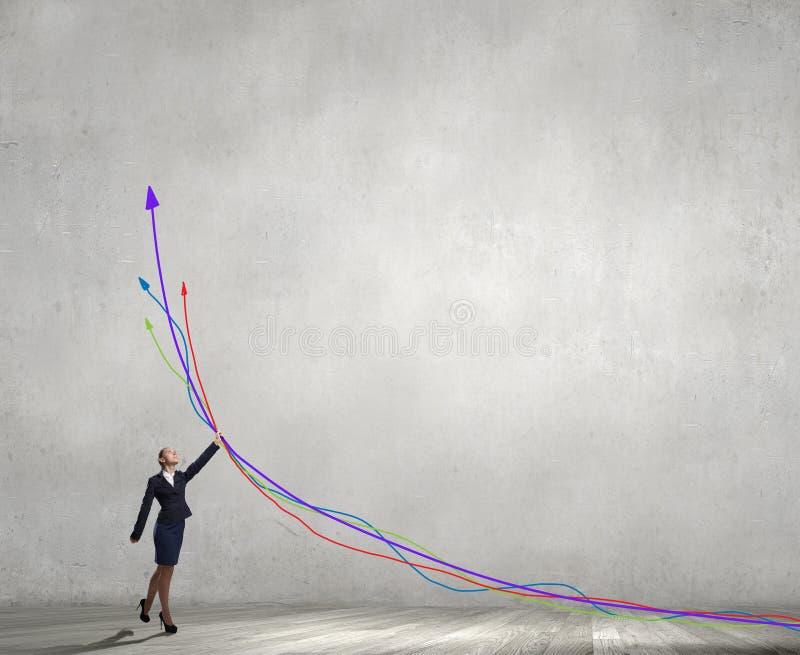 Maak uw inkomen groeien royalty-vrije stock foto