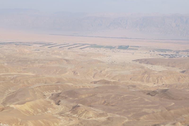 Maale Shaharut in Arava desert royalty free stock photography