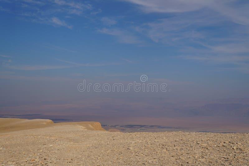 Maale Shaharut in Arava desert stock photo