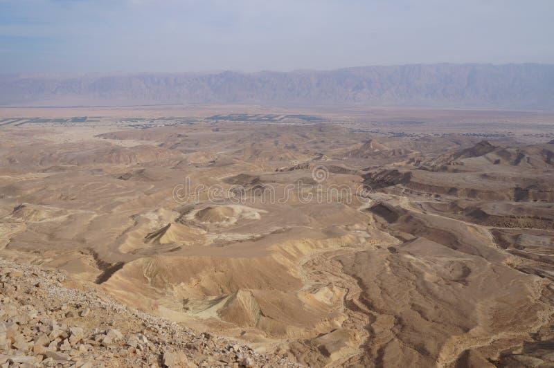 Maale Shaharut in Arava-Wüste stockbild