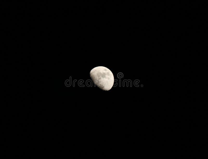 Maan in de hemel stock foto