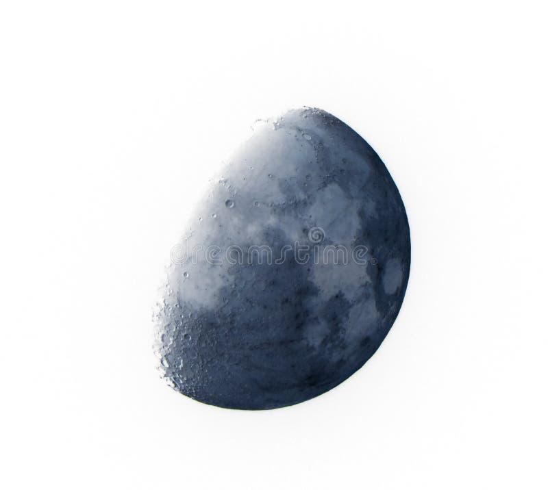 Maan dichte omhooggaand stock afbeeldingen