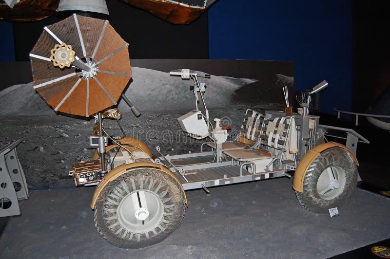 Maan met fouten, U S Voertuig van het Zwerven van Apollo het Maan stock foto's