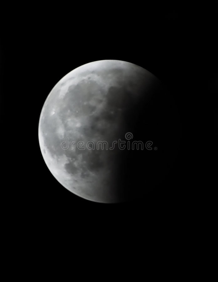 Download Maan Verduistering stock afbeelding. Afbeelding bestaande uit achtergrond - 49281