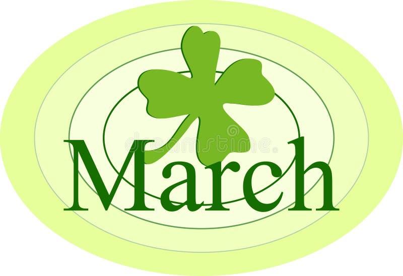 Download Maart vector illustratie. Illustratie bestaande uit ierland - 37755