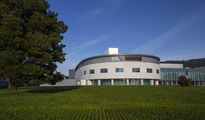 12 maart 2020, INL International Nanotechnology Laboratory in Braga royalty-vrije stock fotografie