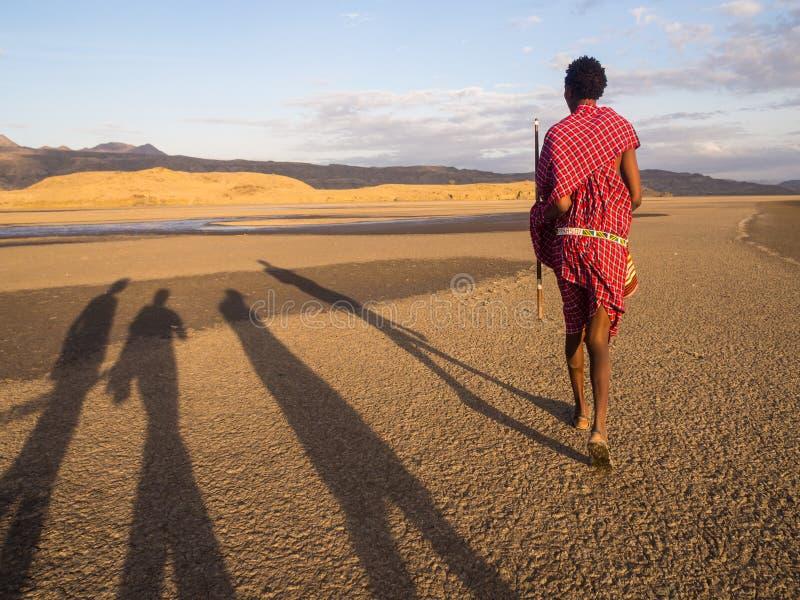 Maasai в Arusha стоковое изображение rf