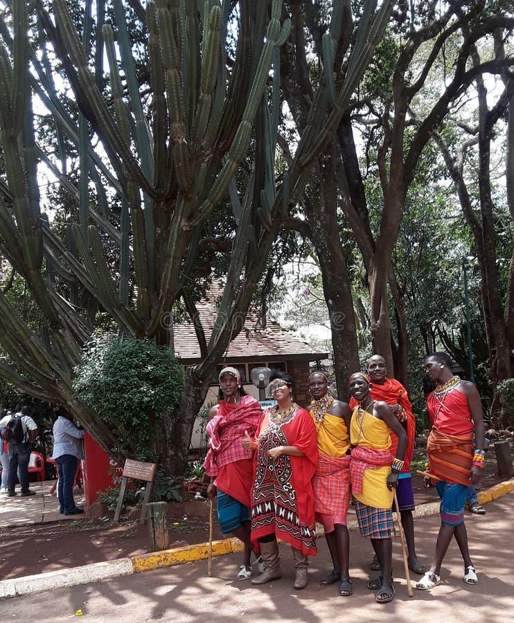 Maasai imagem de stock royalty free