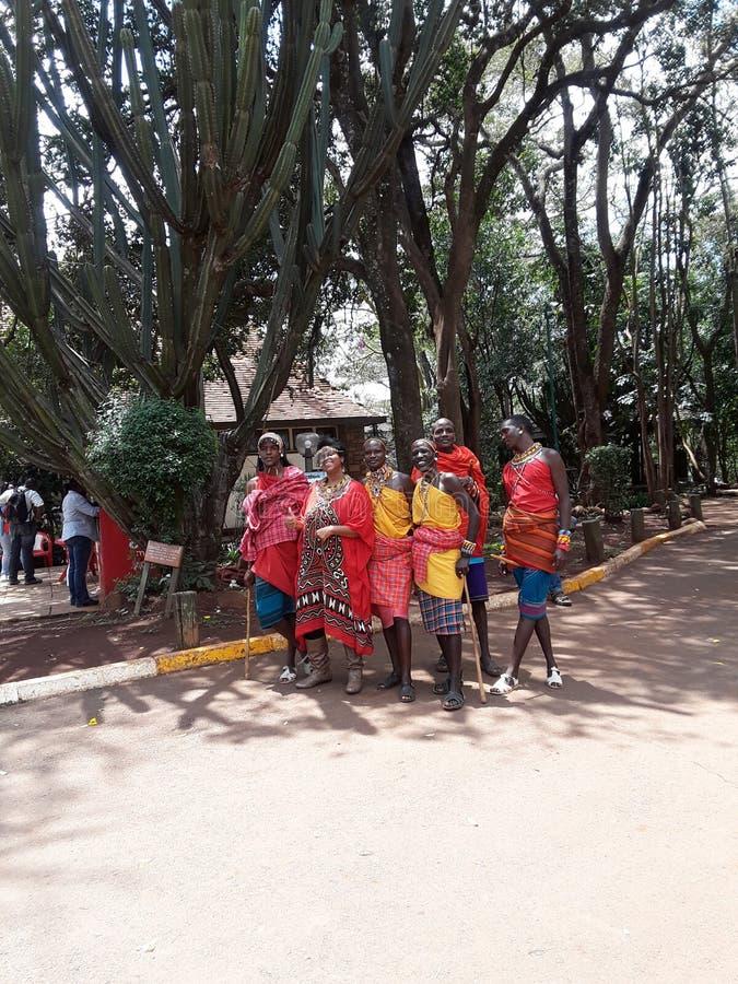 Maasai lizenzfreie stockbilder