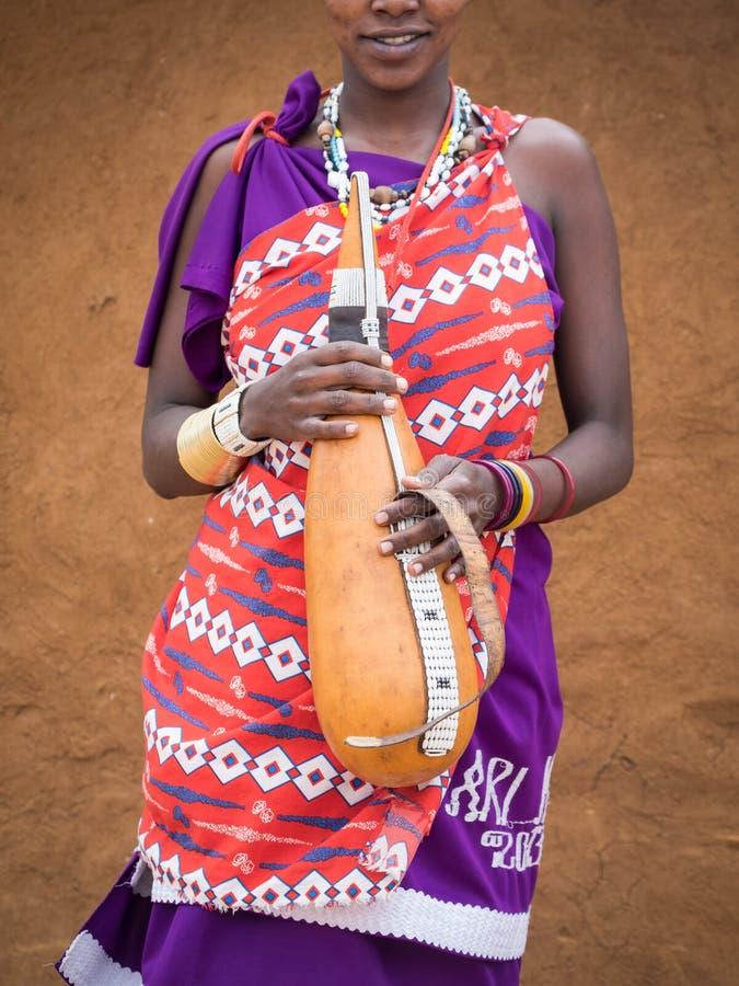 Maasai стоковое изображение rf