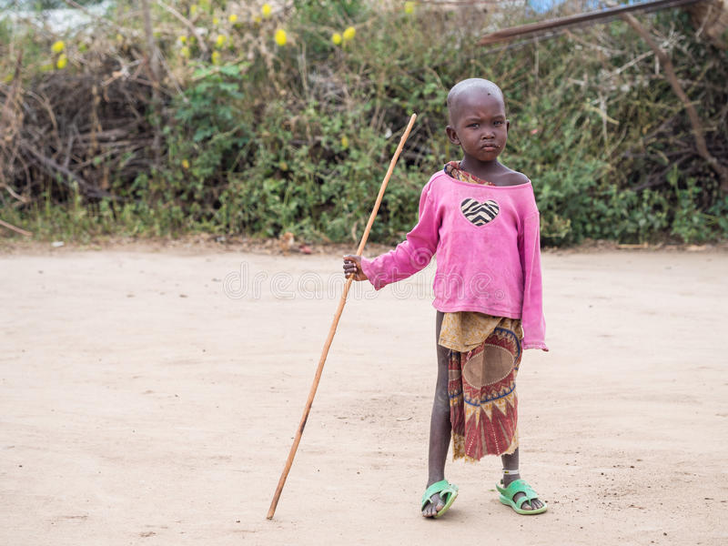 Maasai 免版税库存图片