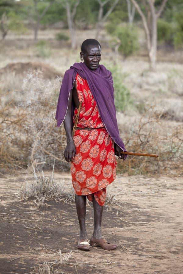 Download Maasai Shephard Editorial Stock Photo - Image: 19326038