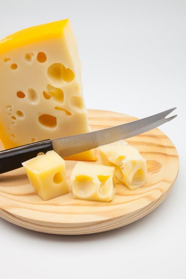 Maasdam乳酪 库存图片