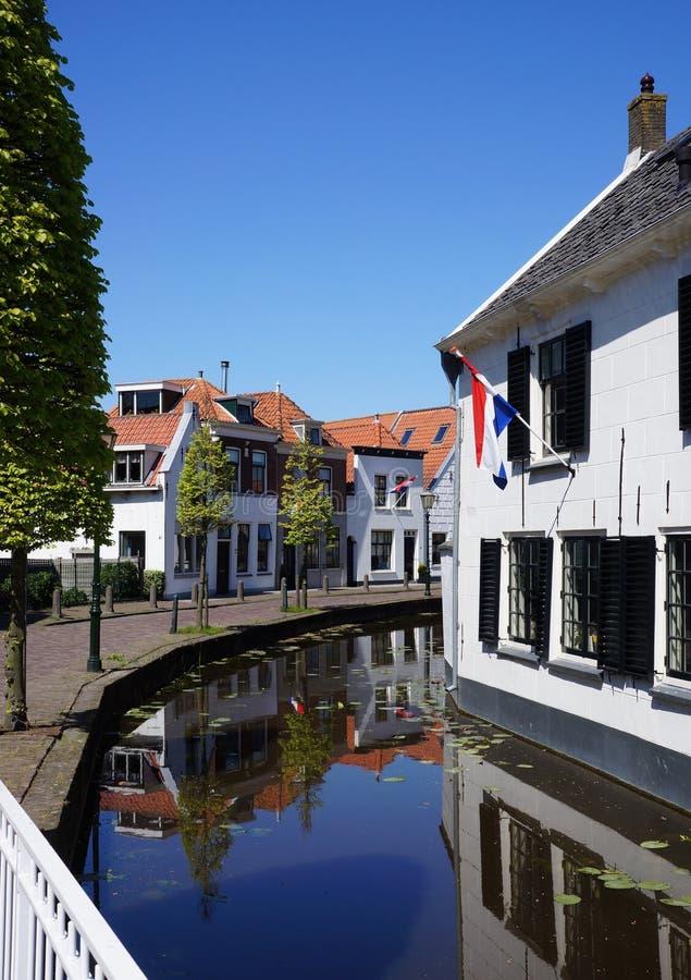 Maasland, Midden Delfland holandie obraz stock