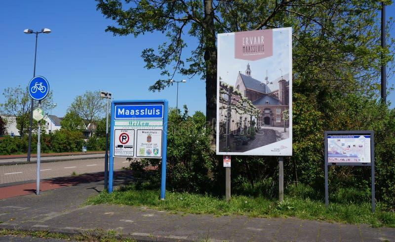 Maassluis holandie obrazy royalty free