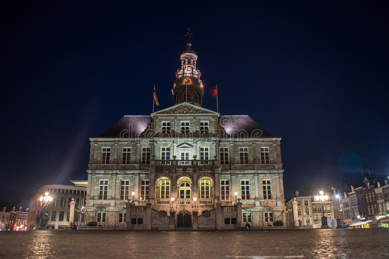 Download Maastricht City Hall stock image. Image of skyline, main - 58358375