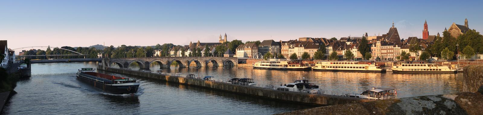 Maastricht, in the Netherlands stock photos