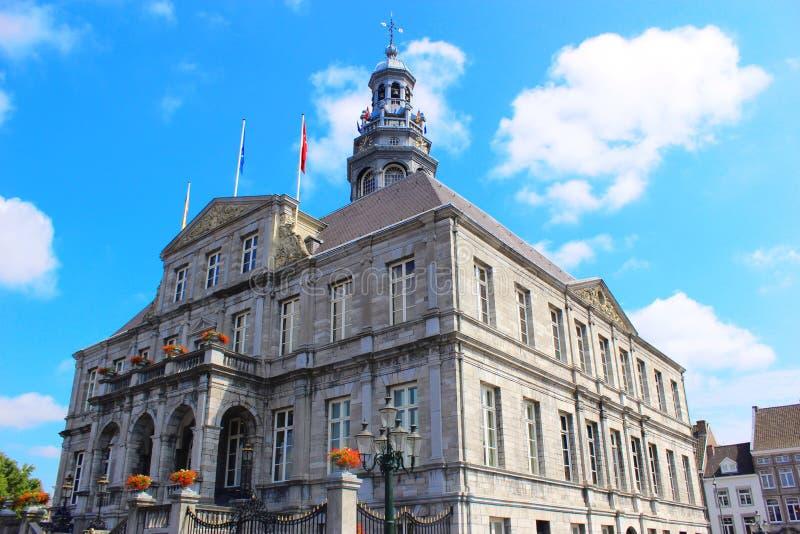 Maastricht - Stadhuis royalty-vrije stock afbeelding