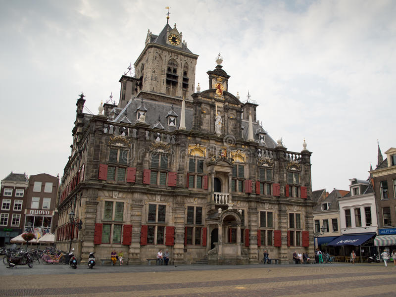 Maastricht town hall royalty free stock images