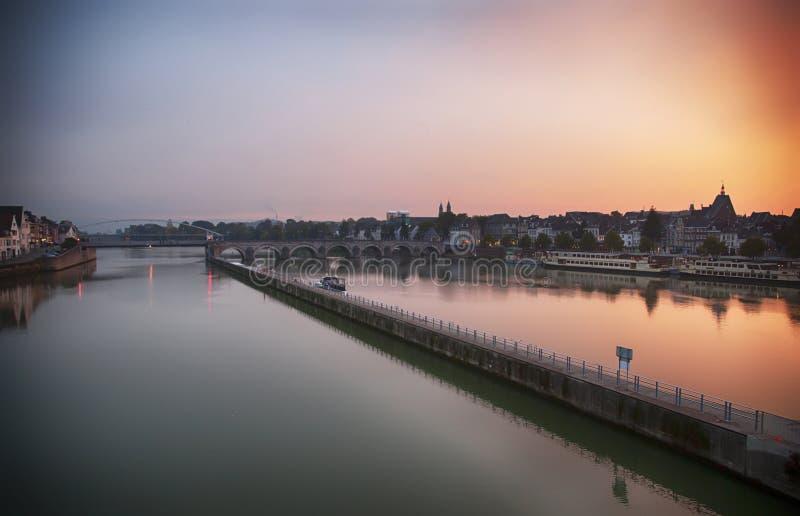 Maastricht uguagliando fotografia stock libera da diritti