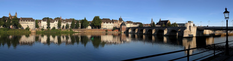Maastricht, w holandiach obraz stock