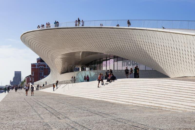 MAAT - Musée d'Art, architecture et technologie image libre de droits