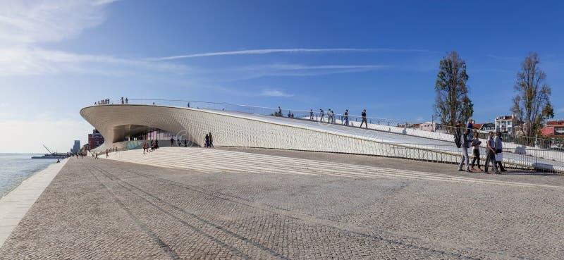 MAAT - Musée d'Art, architecture et technologie photographie stock