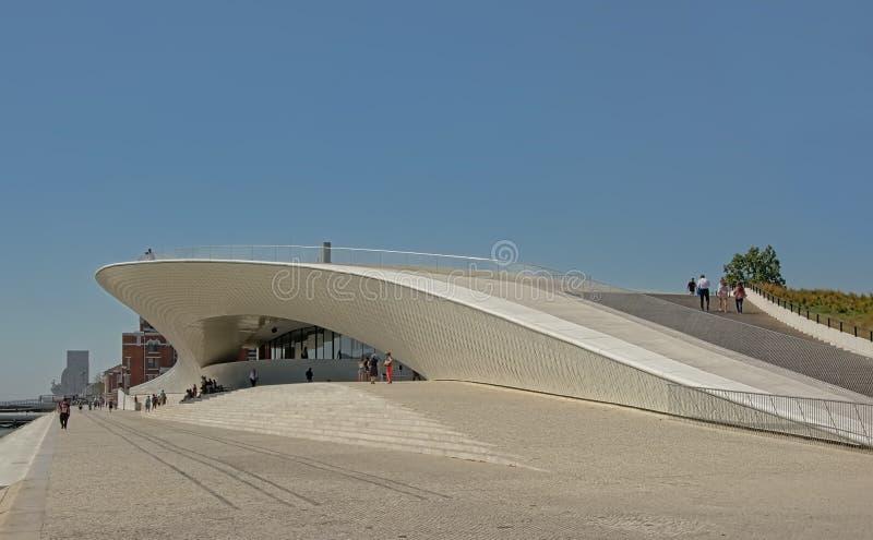 MAAT - Musée d'Art, architecture et technologie, Lisbonne photos stock