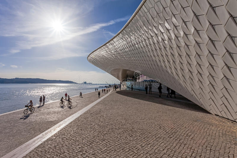 MAAT - Museum of Art, Architecture and Technology. stock images